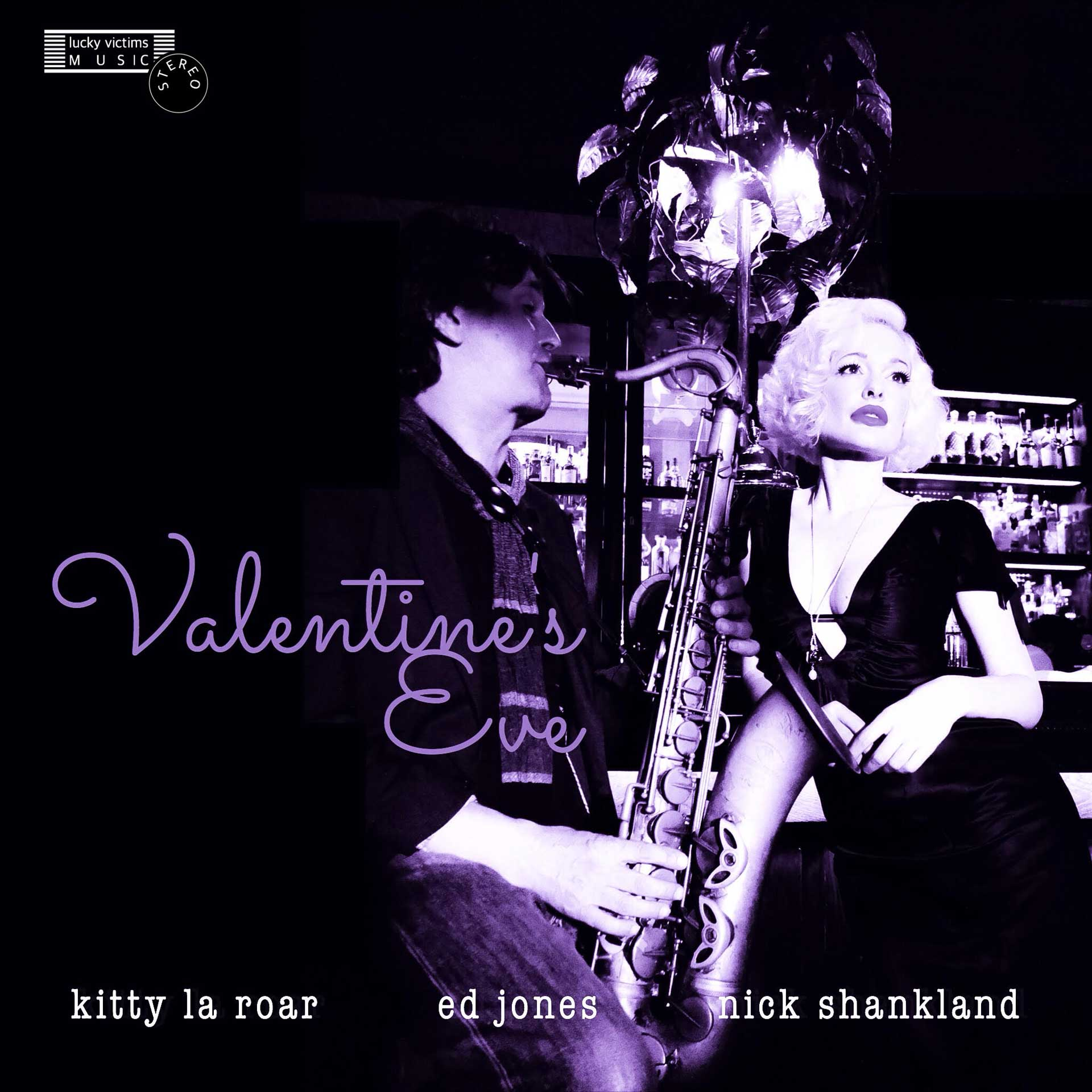 Cover of the new album Valentine's Eve 2016